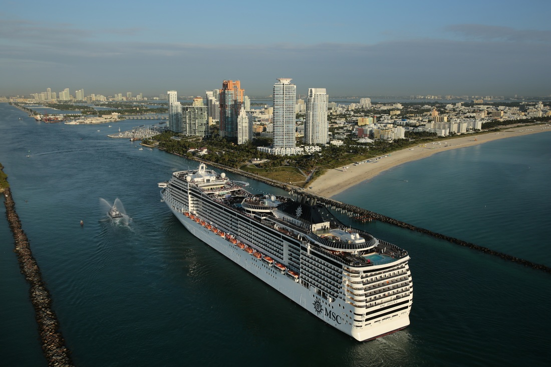 MSC Divina sails into Miami