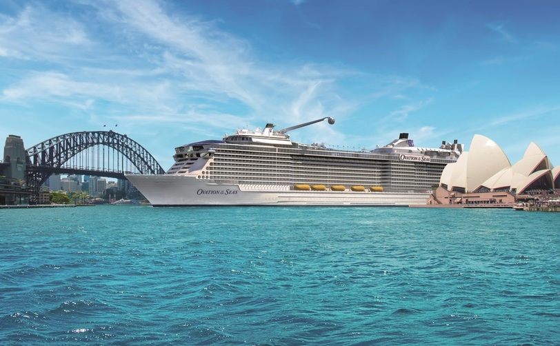 Ovation of the Seas in Australia